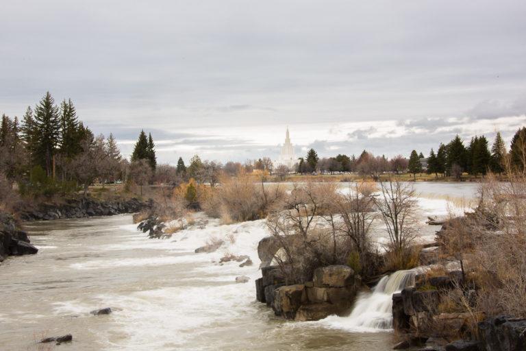 Idaho Falls Temple - Rees Times